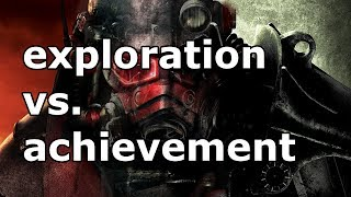 Exploration vs. Achievement - An Analysis of Player Engagement in Fallout 3 and Fallout: New Vegas