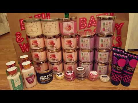 Bath and Body Works Semi Annual Sale Haul