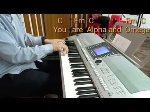 Piano Cover Chord Dan Lirik ALPHA AND OMEGA Israel Houghton