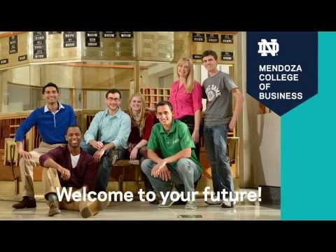 Notre Dame Marketing Video for the Mendoza College of Business