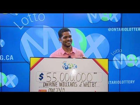 Whitby Man Wins $55M Lotto Max Jackpot