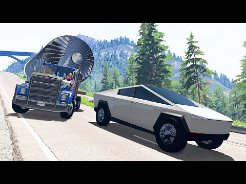 Traffic Crashes #17 - BeamNG DRIVE | SmashChan