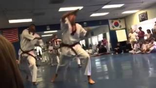 Black belt testing - Ghoses