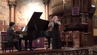 Emma Resmini: Franck Sonata in A Major, IV. Allegretto poco mosso