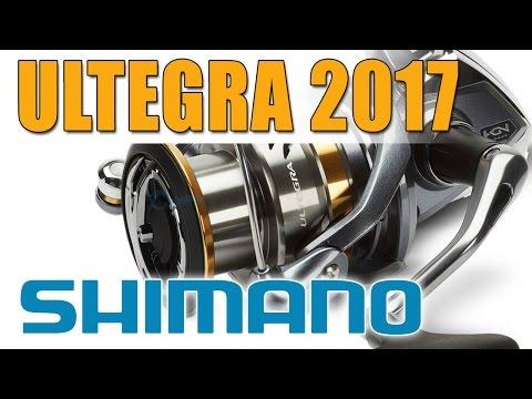 SHIMANO ULTEGRA 2017 2500 - обзор катушки