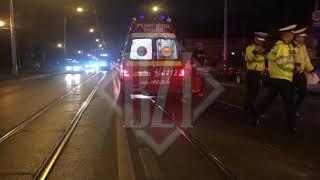 Accident rutier în zona Copou