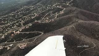 Flyover of 'P' Mountain