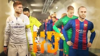 Pro Evolution Soccer 2017 Barcelona vs Real Madrid GamePlay PES 2017