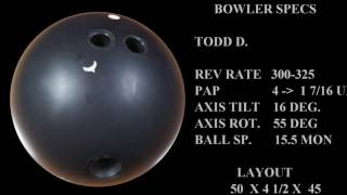 VISIONARY BOWLING PRODUCTS - THE CROW thumbnail