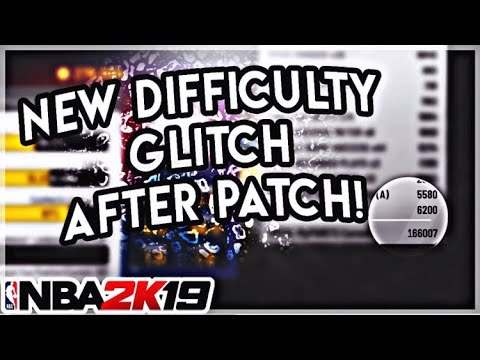 Rookie Difficulty Hall Of Fame Rep (My Career Glitch) NEW! NBA 2K19