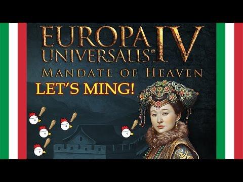 EU4: MANDATE OF HEAVEN - Novità e Let's Explore ITA #1
