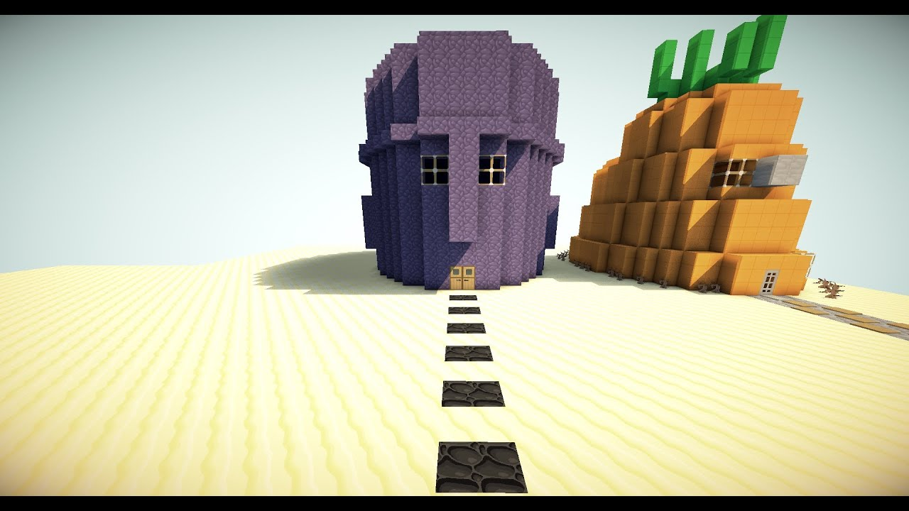 Squidwards House In Minecraft