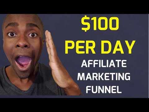 $100 Per Day Affiliate Marketing Funnel Tutorial (Make Money Online)