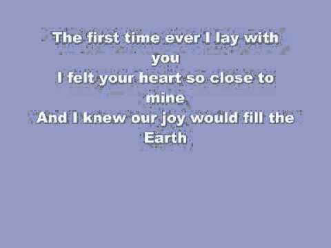 Leona Lewis - First Time Ever I Saw Your Face Instrumental with Lyrics.