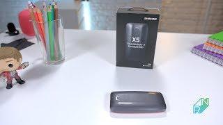 Samsung X5 vs T5 SSD | Robert Nawrowski