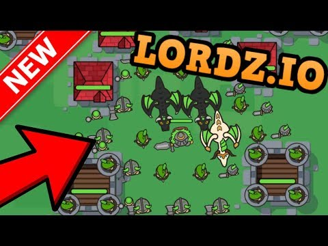 LORDZ.IO - AGAR.IO AND CLASH OF CLANS COMBINED!! // Biggest Army EVER (New .io Game)