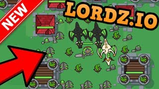 LORDZ.IO = AGAR.IO + CLASH OF CLANS!! // Biggest Army EVER (New .io Game)