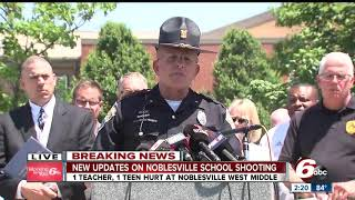 FULL PRESS CONFERENCE: Police discuss school shooting at Noblesville West Middle School