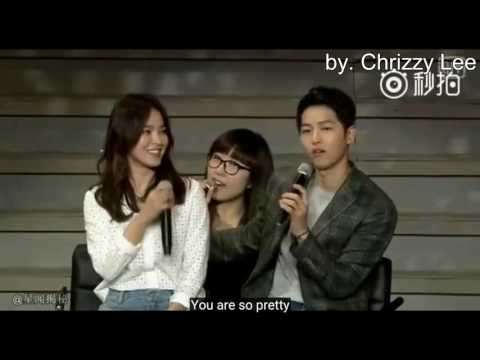 Song Joong Ki & Song Hye Kyo OFFICIALLY DATING declare @Chengdu Fanmeet [SONGSONG - KIKYO COUPLE]