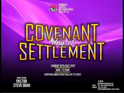Covenant Day of Settlement-1st Service