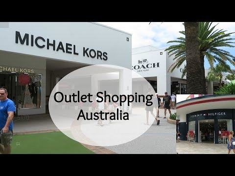 Outlet Shopping In Gold Coast And Brisbane, Australia