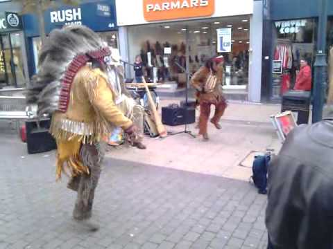 Native American Indian Dance at Romford, Essex