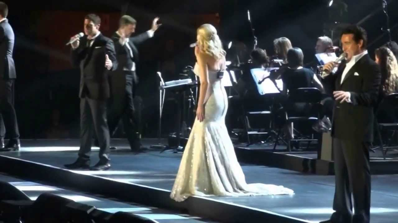 Il divo katherine jenkins in concert 11 time to say - Il divo translation ...