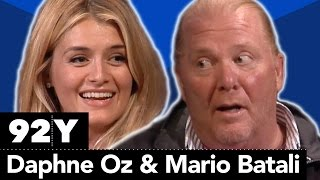 The Chew's Daphne Oz in Conversation with Mario Batali