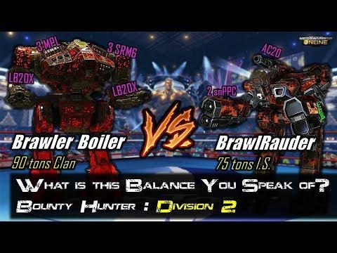 [BRxV] Where is the Balance? Boiler vs Bounty Hunter - Division 2