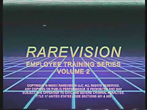 Rarevision 80s VHS Training Video Intro