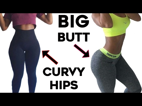 ❤️How To Get Curvy Hips and Bigger Butt