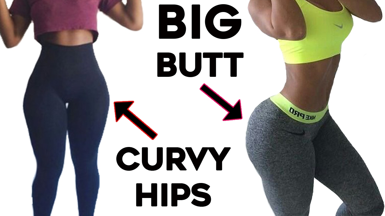 ❤️how to get curvy hips and bigger butt🍑| 4 workouts for wider