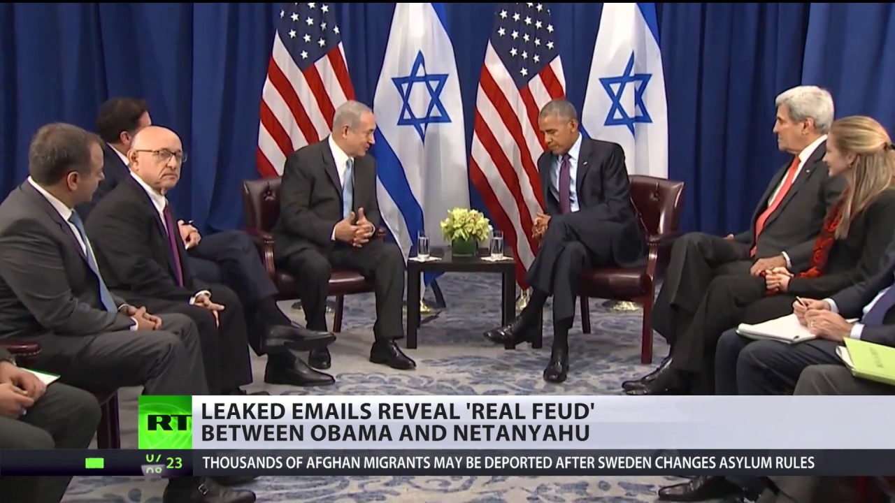 'Real feud' between Obama & Netanyahu, Trump-Putin 'bromance' bashing – newly leaked Podesta emails