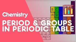 What are Periods and Groups in the Periodic Table? | Chemistry | The Fuse School