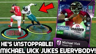 MICHAEL VICK JUKES PLAYERS! 2004 VICK! Madden 19 Ultimate Teams