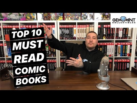 Top 10 MUST READ Comic Books!