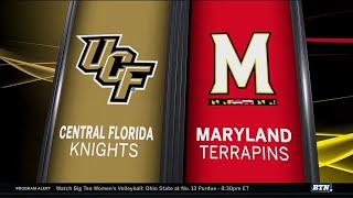Central Florida At Maryland - Football Highlights