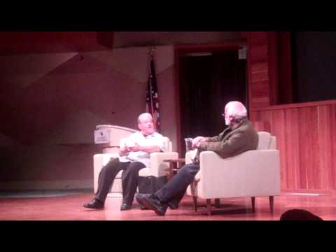 Father Greg Boyle interviews Luis Rodriguez at the ALOUD series