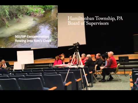 Citizen's Rights Denied -  Hamiltonban Township SGI 'Conditional Use' Application Hearing