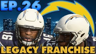 Is Melvin Gordon Getting Benched? LA Chargers Legacy Franchise Madden 19 Online Franchise EP.26