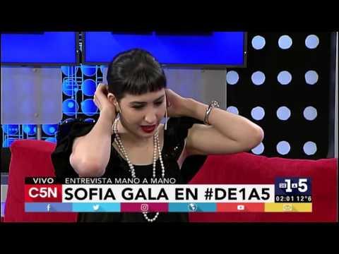 C5N - De1a5: Entrevista a Sofía Gala (Parte 1)
