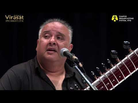 Tumhare Shehar Ka Mausam by Ustad Shujaat Khan | Live | Virasat - Spic Macay | 2017 | IIT Guwahati