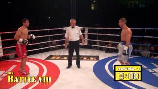 The Battle VIII: Kahkaber Avetisian vs Mighty Mike Arnaoutis