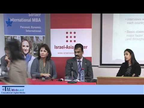 Panel - Destination India - 20 Years of Israel-India Diplomatic Relations