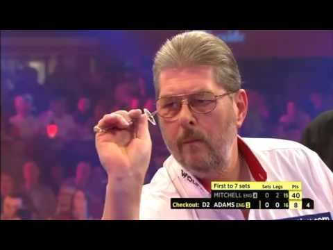 Darts World Championship 2015 Final Adams vs Mitchell