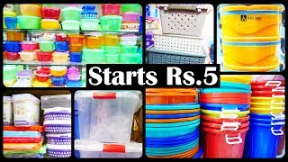Gambar cover Rs.5 All Types Of Plastic Products And Kitchenware Items Wholesale Shop With Single Piece Purchase