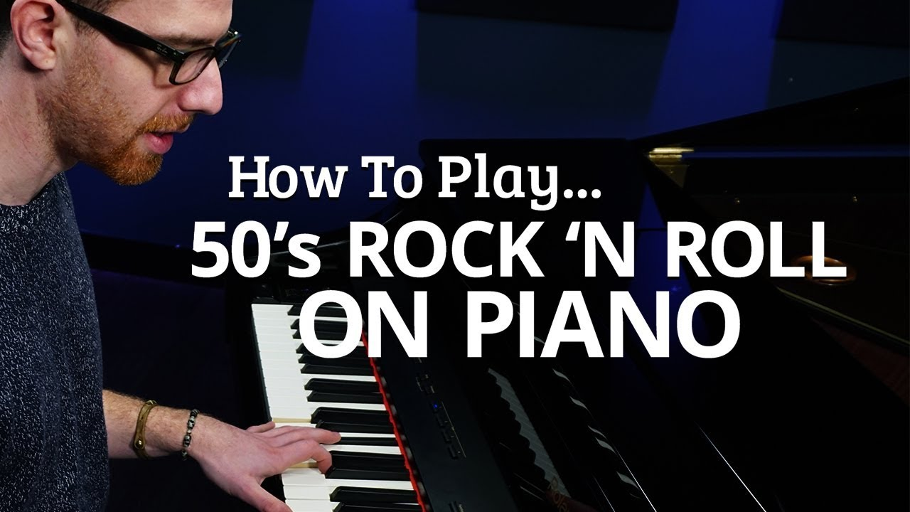 play rock 39 n roll piano like it 39 s the 50 39 s piano lesson pianote youtube. Black Bedroom Furniture Sets. Home Design Ideas