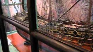 ST. GEORGE, Huge 300-Year-Old Ship Model