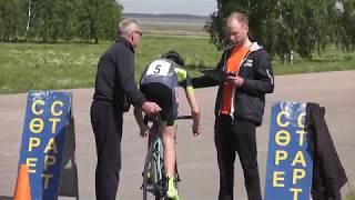 00041Петропавловск велоспорт.На приз А.Винокурова 4 день разделка20 км