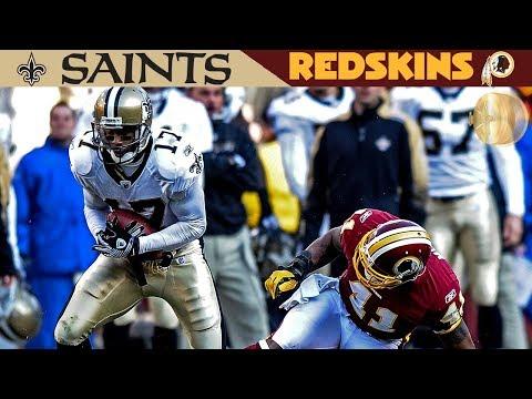 An Almost Perfect Upset! (Saints vs. Redskins, 2009) | NFL Vault Highlights